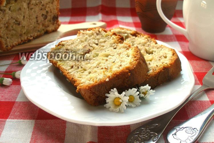 Рецепт Кекс с ревенем и орехами