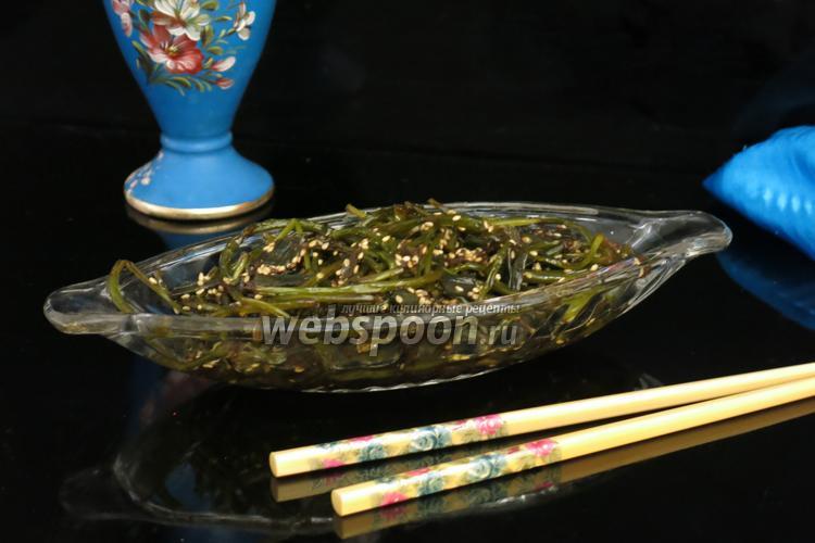 Рецепт Чесночные стрелки по-корейски