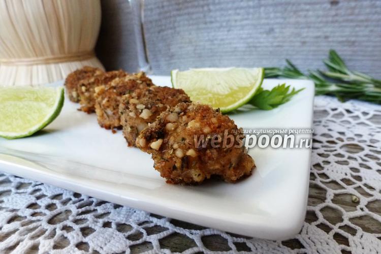 Фото Морские гребешки в ореховой панировке