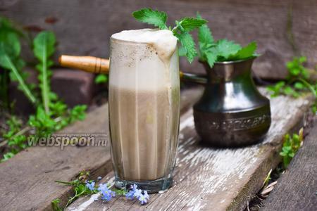 Кофейный смузи с мятой