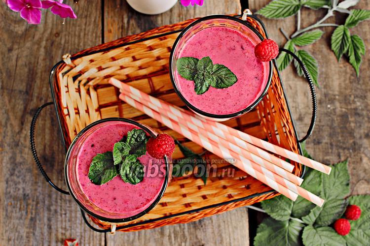 Рецепт Смузи чернично-малиновый
