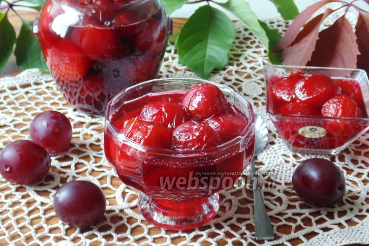 Рецепт Варенье из красной алычи