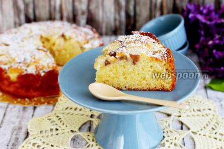 Пирог персиковый