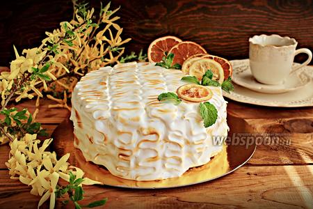 Торт «Лимон & Ваниль»