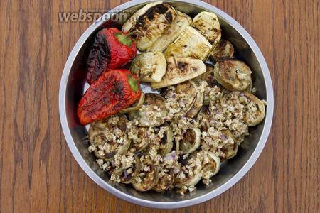 Подавайте закуску сразу же после приготовления.