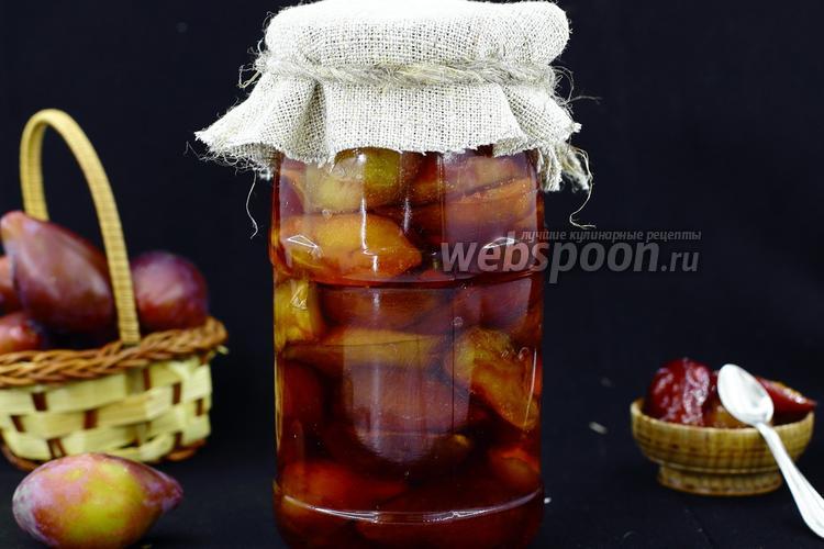 Рецепт Карамельная слива на зиму