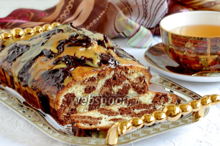 Рецепт Кекс «Леопард»
