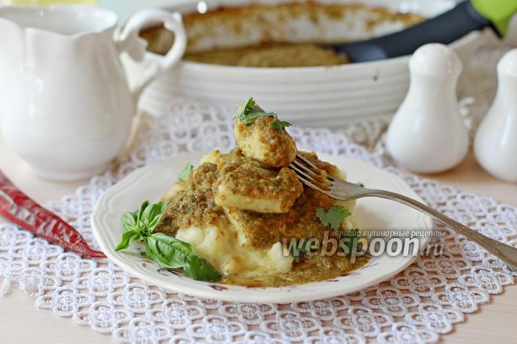 Рецепт Рыба минтай под пикантным соусом