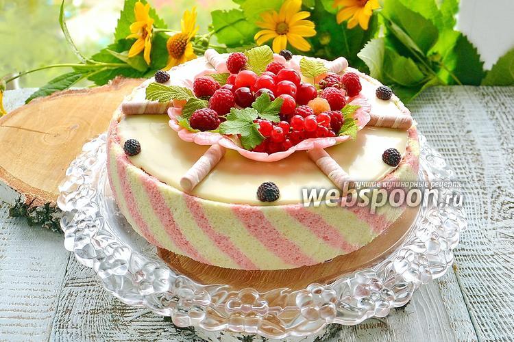 Рецепт Праздничный торт «Восторг»