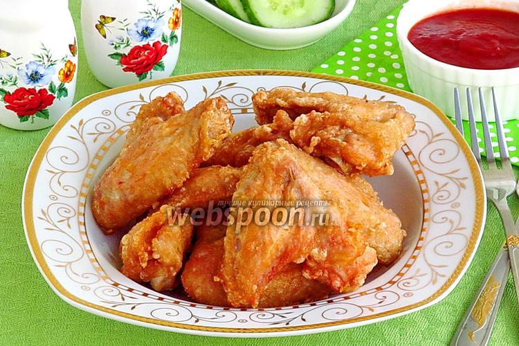 Фото Куриные крылышки по-китайски