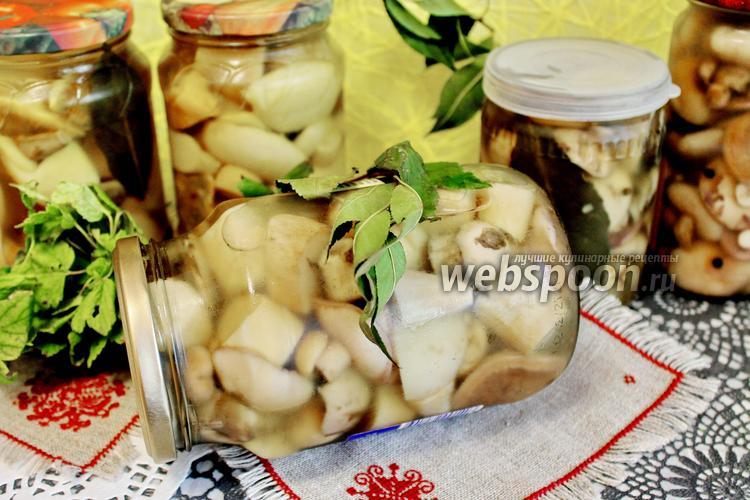 Рецепт Ассорти грибное на зиму