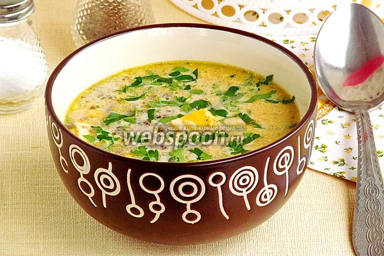 Рецепт Брюссельский суп из шампиньонов