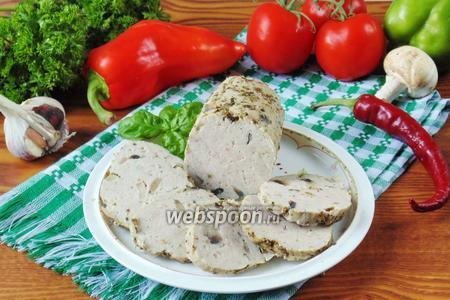 Домашняя колбаса без кишок