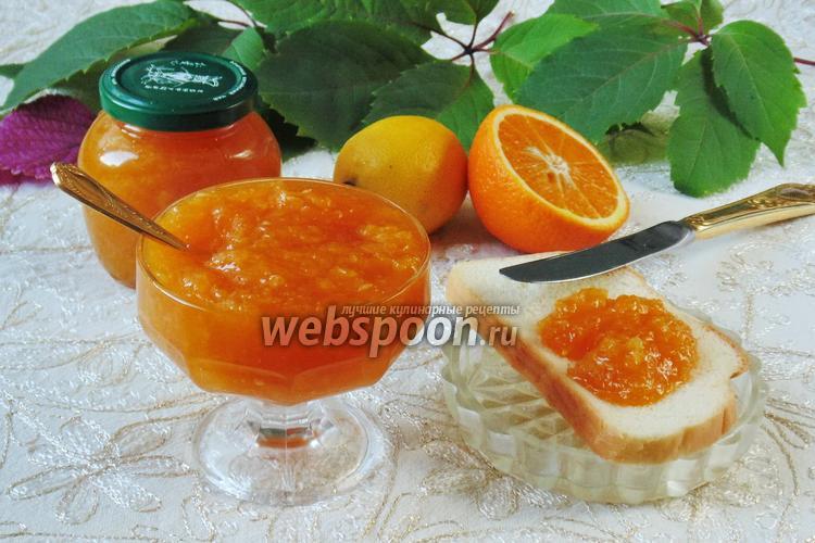Рецепт Конфитюр из апельсинов