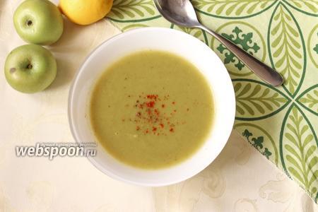 Яблочный суп-пюре