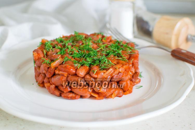 Рецепты из фасоли пошагово