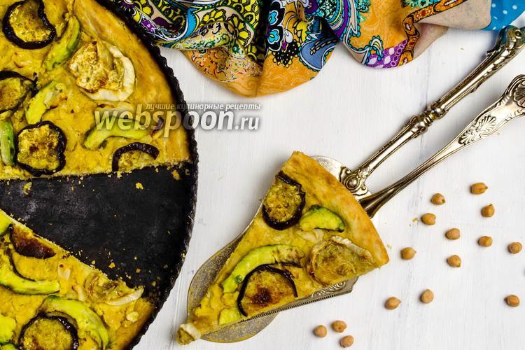 Рецепт Веганская пицца с баклажанами