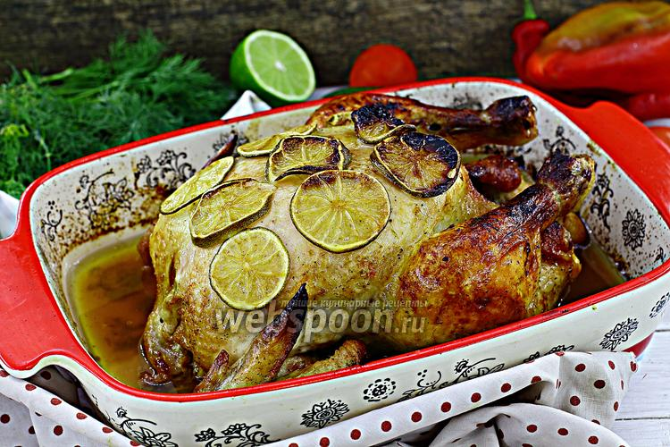 Фото Курица в маринаде из лайма