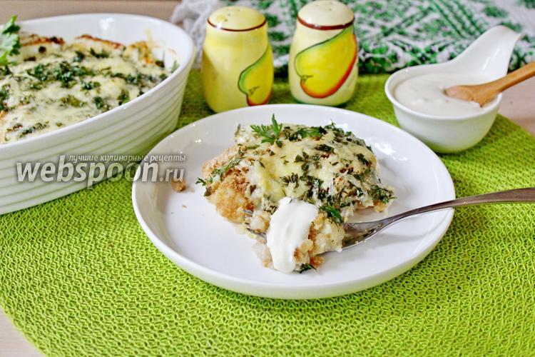 Рецепт Запеканка из филе минтая и цветной капусты