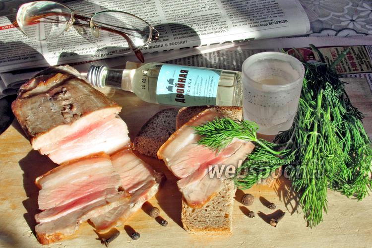 Фото Свиная грудинка пряная в духовке