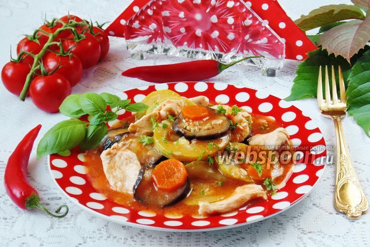 Рецепт Соте с курицей