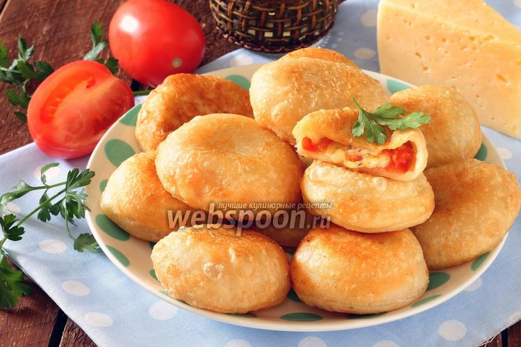 Рецепт Пирожки бомбочки с помидорами
