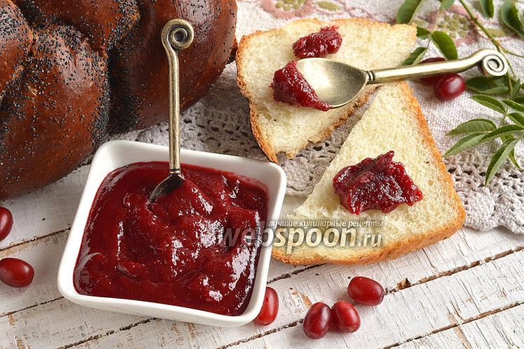Рецепт Мармелад из кизила