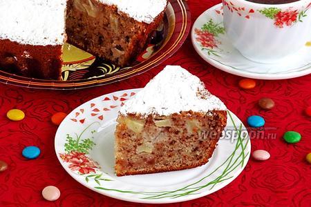Пирог яблочный по-клименковски