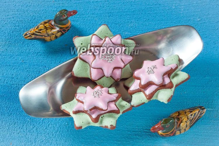Фото Печенье «Цветок Лотоса»