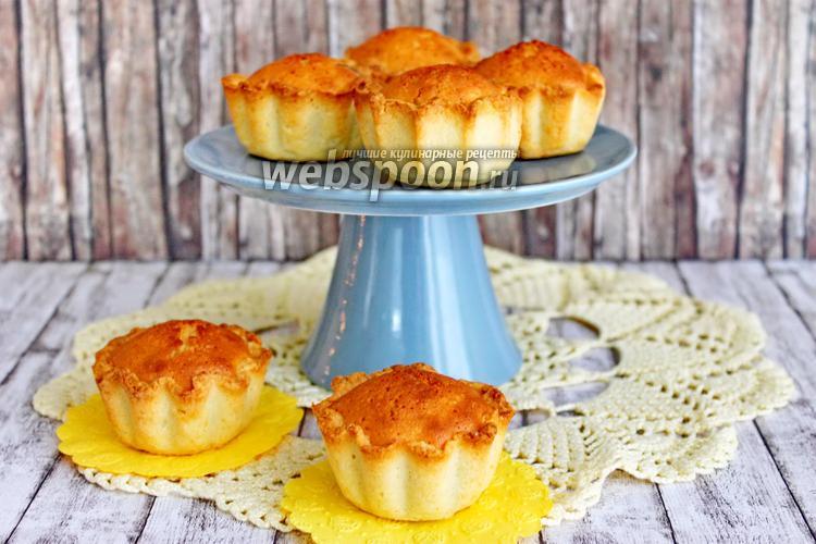 Фото Миндальное пирожное (Mazarin)