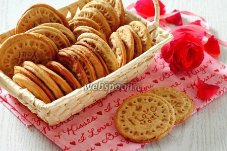 Печенье с мёдом и корицей