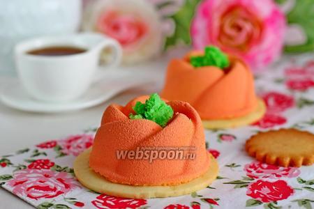 Муссовые пирожные с бобами тонка
