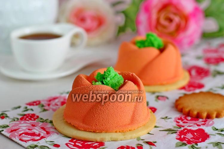 Фото Муссовые пирожные с бобами тонка