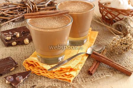 Сливочно-шоколадный мусс