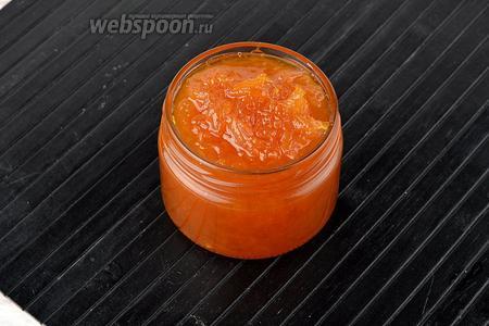Варенье из тыквы с апельсином и лимоном готово.