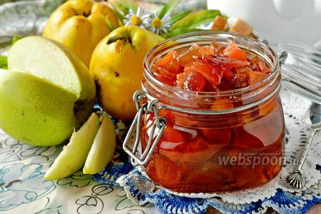 Варенье из айвы и яблок