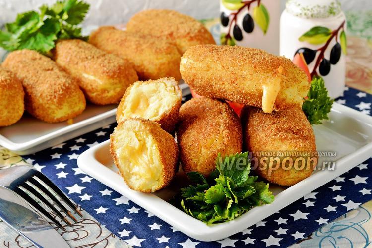 Фото Картофельные палочки с сыром