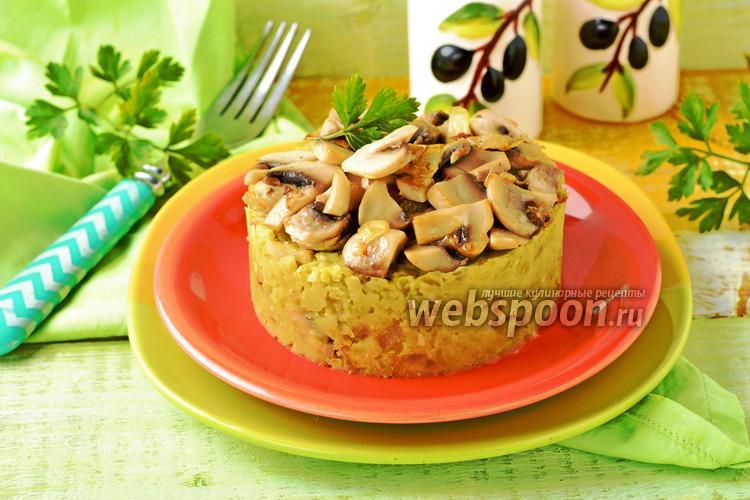 Фото Гороховая каша с грибами