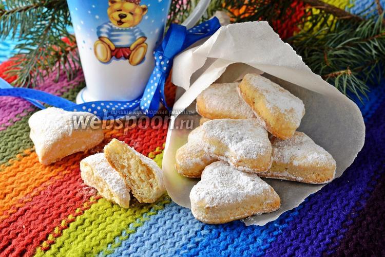 Фото Сметанное печенье без яиц