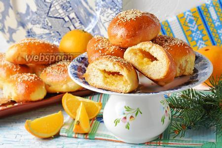 Пирожки с апельсинами