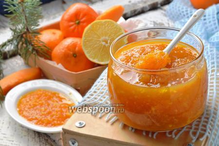Варенье из тыквы с мандарином и лимоном