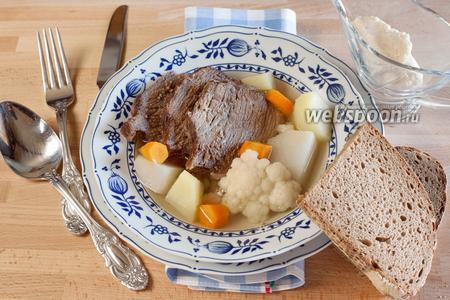 Вареная говядина «Tafelspitz»