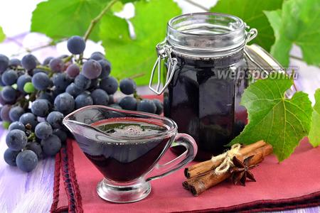 Сироп из красного вина