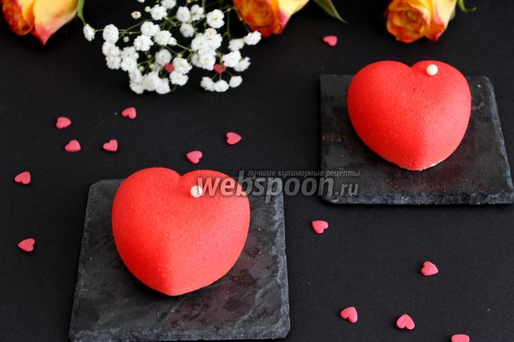 Фото Пирожные «Сердце»