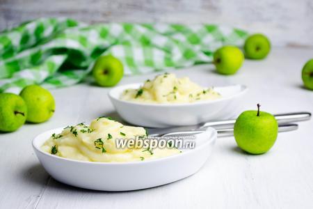 Картофельное пюре с яблоком