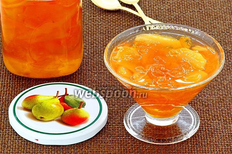 Фото Варенье из груш и апельсинов в мультиварке