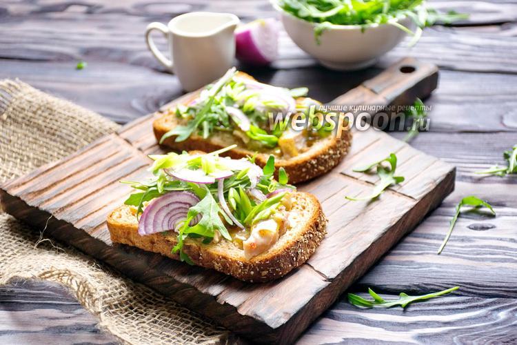 Фото Датский открытый сэндвич