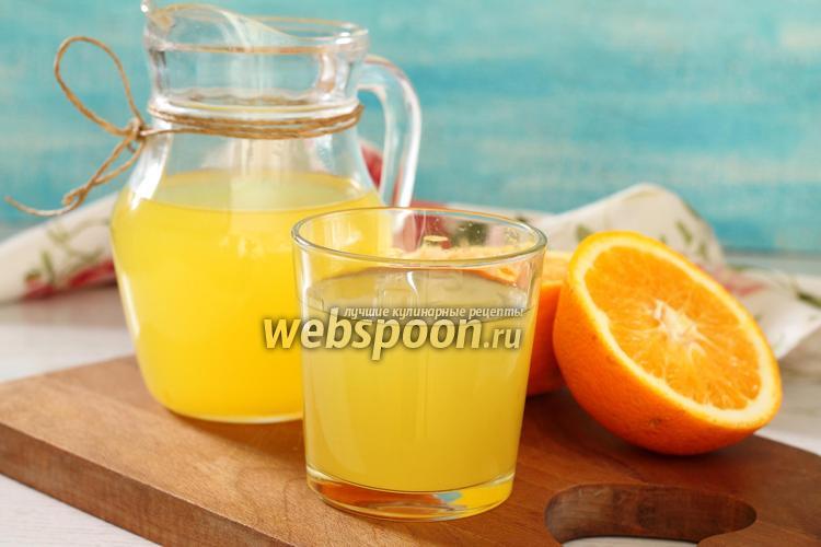 Фото Морс апельсиновый
