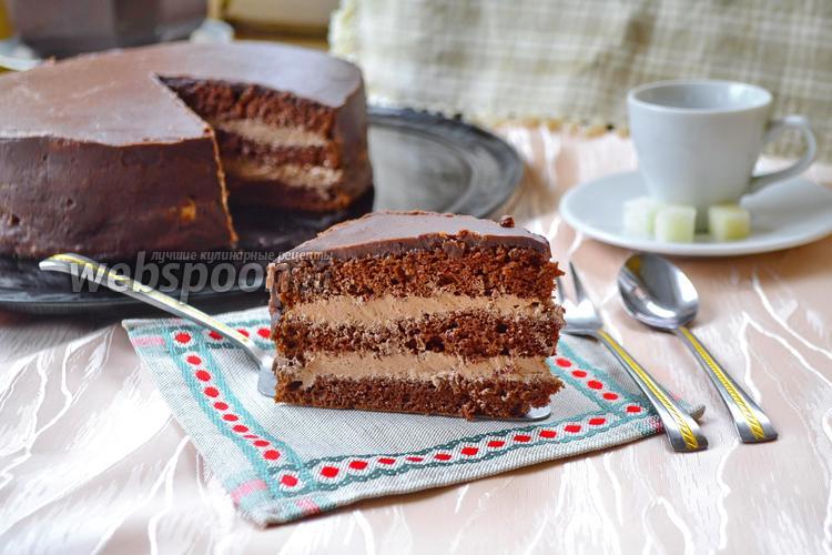 Торт пражский по госту рецепт пошагово