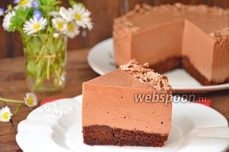 Фото Шоколадный сметанник